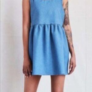 Urban Renewal Denim Babydoll Dress Size Medium